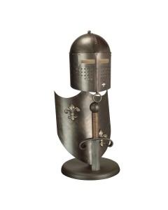 Elstead Lighting Crusader Table Lamp In Burnished Bronze