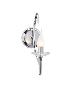 Elstead Lighting Brightwell 1 Light Bathroom Wall Light In Polished Chrome Finish (IP44)