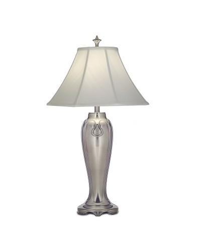 Stiffel Charleston Table Lamp - Antique Nickel