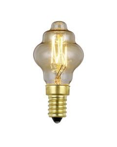 Elstead Lighting Vintage Style Filament Bulb: 25 Watt E14 Small Edison Screw; Retro Style